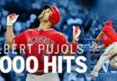 Albert Pujols en el círculo de los grandes del Beisbol: Es uno de cuatro con mas 3,000 hits y 600 HRs