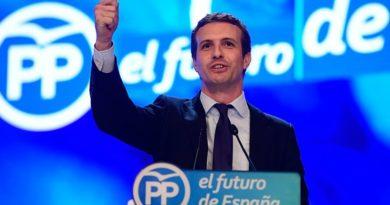 De ultimo minuto: PP de España sustituye a Mariano Rajoy por Pablo Casado como su presidente