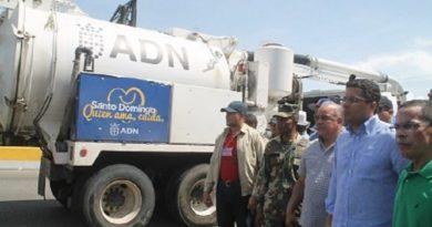 La administración de Collado ha invertido 85 millones de pesos en el mejoramiento del drenaje de la capital, tres veces mas que la gestión que anterior