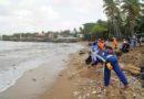 Hoteleros de la capital encomian labor de ADN y otras autoridades en la limpieza del litoral de Santo Domingo