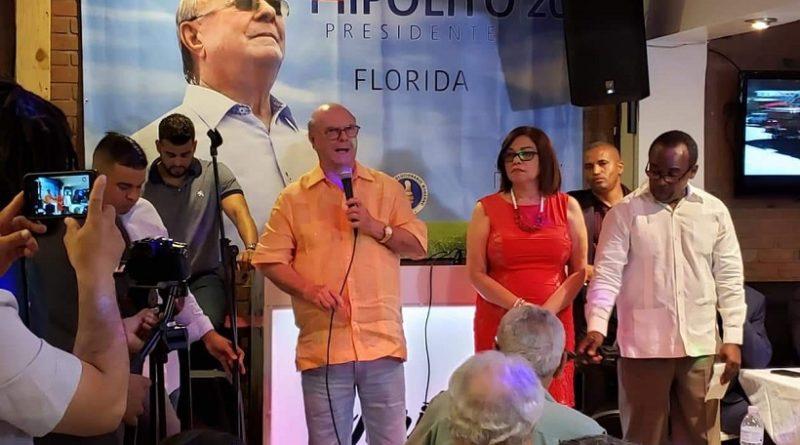 Hipólito Mejía en Miami: He decidido dedicar los últimos años de vida a reivindicar a los pobres y luchar por sus más urgentes necesidades