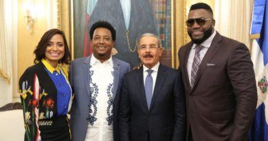 David Ortiz y Pedro Martínez son designados Embajadores de Buena Voluntad de la RD