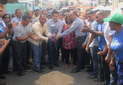 Collado inicia solución a inundaciones que datan de 40 años en Barrio Manganagua