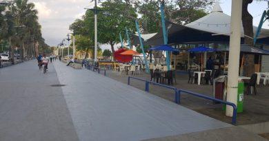 Proyecto renovación del Malecón de la capital en fase final con nuevos atractivos
