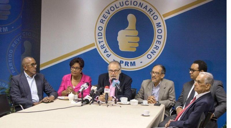 PRM denuncia que el g0bierno pide al congreso legalizar violaciones a la Ley de Presupuesto 2019