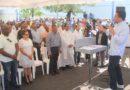 Collado inaugura varias obras en el sector La Puya de Arroyo Hondo