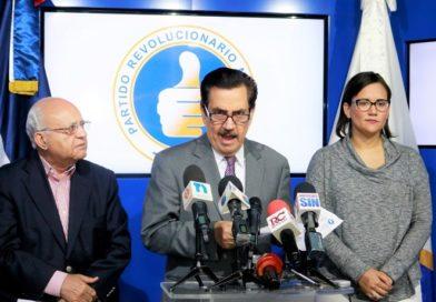 PRM acusa al presidente Medina de desacatar el mandato de la Ley Electoral
