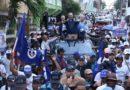Luis Abinader y Manuel Jiménez encabezan gigantesca marcha en SDE y proclaman como inevitable el cambio