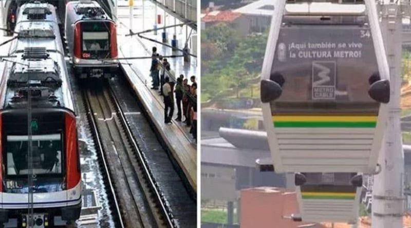 Recaudaciones del Sistema Metro-Teleférico en el 2019 superaron en un 18% al 2018