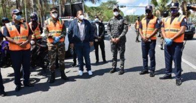 Obras Públicas ponen en funcionamiento dos corredores de Asistencia Vial en Santo Domingo Norte