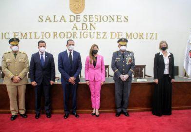 Carolina Mejía presenta Plan Local de Seguridad Ciudadana en la capital.