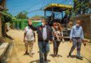 Obras Públicas y Alcaldía SDN inician programa de asfaltado en barrios en Sabana Perdida faltando solo días para elecciones