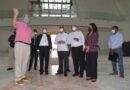 Deligne Ascención y el arzobispo Ozoria supervisan construcción Santuario del Santo Cristo de Bayaguana