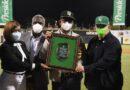 Deligne Ascención es reconocido por el equipo de béisbol Estrellas Orientales