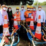 Programade Obras Públicas crea cientos de empleos para mantenimiento enDajabón