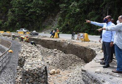 Ministro de Obras Públicas supervisa trabajos carretera Piedra Blanca-Maimón-Cotuí, cuyo monto supera los 630 millones de pesos